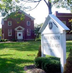 Loomis Hall, Home of Alton Museum of History and Art
