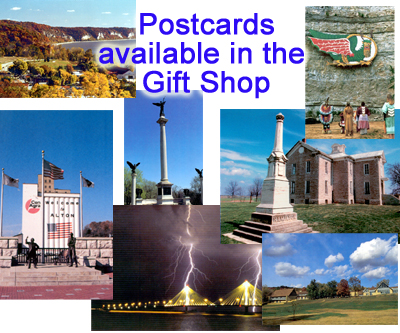 Postcards available in the Gift Shop